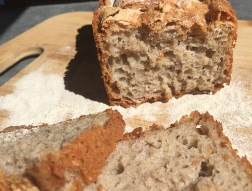 pain sans gluten croustillant et aéré