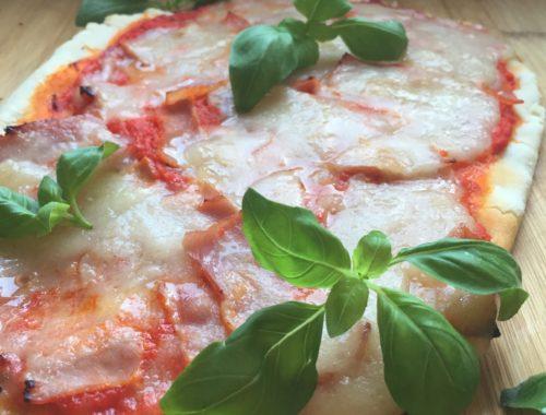pâte à pizza sans gluten, vegan, sans soja