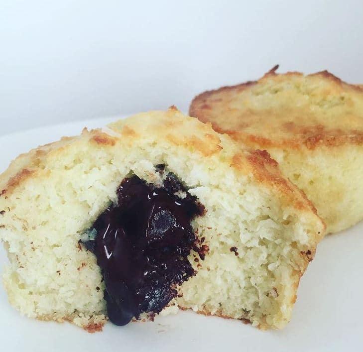sans gluten ni lactose : muffin coco choco